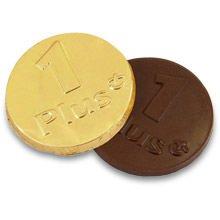 Chokolademønter